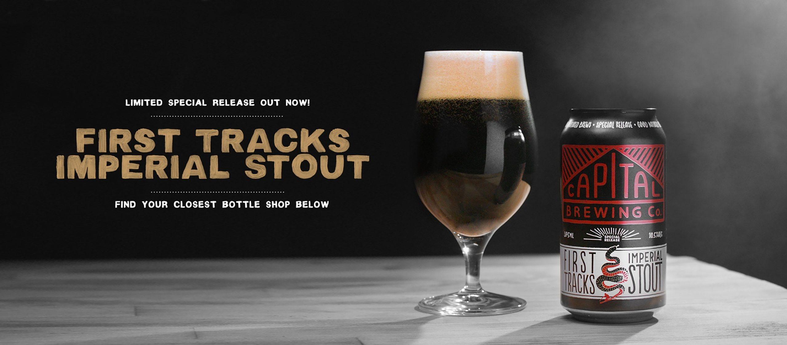 First Tracks Imperial Stour - Find your closest bottle shop below